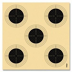 Tarcza Kpn 14x13,5 cm 5/1 (100 szt.)